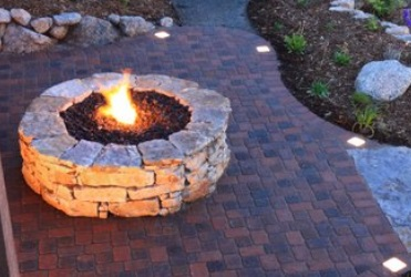 Outdoor living knoxville outdoor kitchens farragut for Prefabricated fire pits